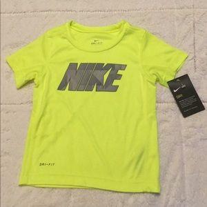 Tops | Neon Green Yellow Nike | Poshmark